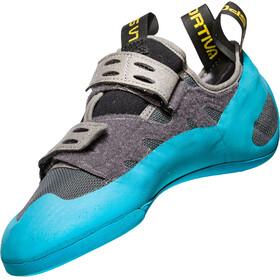 La Sportiva GeckoGym - Chaussures d'escalade Homme - gris/turquoise